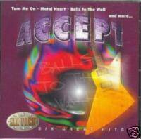 Accept : Balls to the Wall - Six Pack