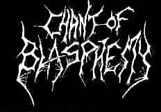 logo Chant Of Blasphemy