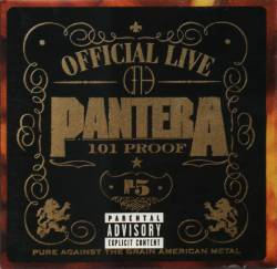Pantera : Official Live: 101 Proof