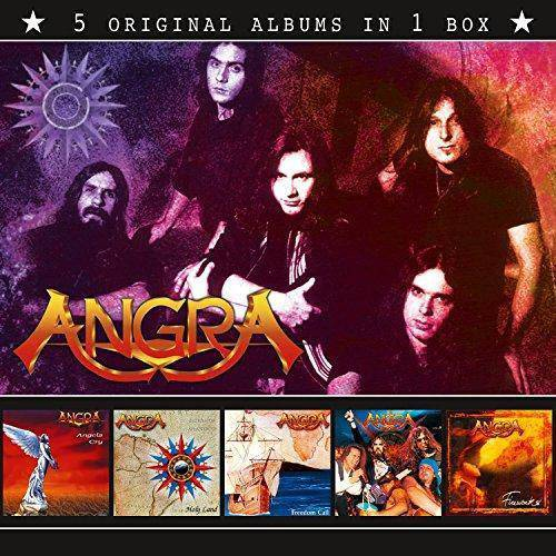 Angra : Angra (5 Original Albums in 1 Box)
