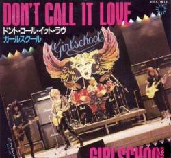 Girlschool : Don't Call It Love