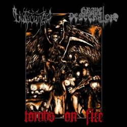 Grave Desecrator : Tomb on Fire